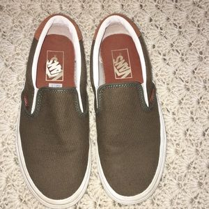 Vans Off The Wall Suede Trims Cotton